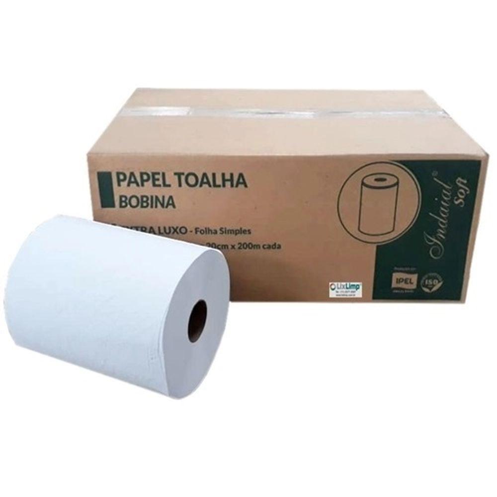 Papel-Toalha-Bobina-Folha-Simples-Extra---Soft---6X200M